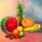 A Delicious Fruit Salad for Tropical and Jungle Themed Party
