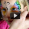 How to Create Beautiful Butterflies Face Painting
