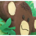 Monkey Marble Chocolate Cake for Jungle Birthday Party